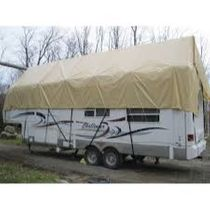 Navigloo protection for RV and conventional travel trailer from 31 ft to 35 ft