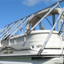 Navigloo cover for pontoon from 25 ft to 26 ft